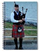The Lone Piper Spiral Notebook