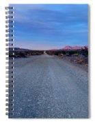 The Long Dirt Road Spiral Notebook