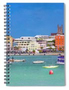 The Long Town  Spiral Notebook