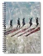 The Long Walk, World War Two Spiral Notebook
