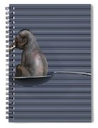 The Looming Addict  Spiral Notebook