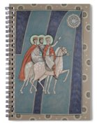 The Magi On Their Way Spiral Notebook