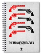 The Magnificent Seven Spiral Notebook