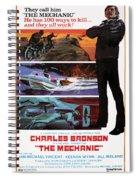 The Mechanic 1972 Spiral Notebook