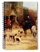 The Meet By Heywood Hardy Spiral Notebook