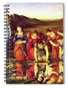 The Mirror Of Venus 1875 Spiral Notebook