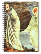 The Morning Of The Resurrection 1882 Spiral Notebook