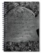 The Mortal Part Spiral Notebook