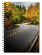 The Mountain Road Spiral Notebook