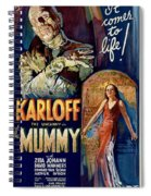 The Mummy 1932 Film Spiral Notebook