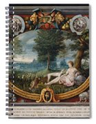 The Nymph Of Fontainebleau  Spiral Notebook