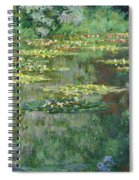The Nympheas Basin - Digital Remastered Edition Spiral Notebook