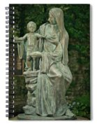 The Offering Statue Spiral Notebook