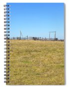 The Old Corral On The Hillock    Spiral Notebook