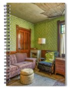 The Old Farmhouse Living Room Spiral Notebook