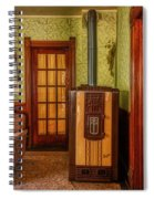 The Old Farmhouse Old Furnace And Woodwork Spiral Notebook