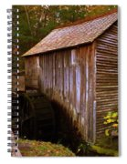 The Old Grist Mill Spiral Notebook