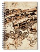 The Old Naval War Room Spiral Notebook