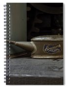 The Old Oil Can Spiral Notebook