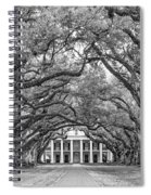 The Old South Version 3 Bw Spiral Notebook