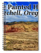 The Painted Hills Mitchell Oregon 02 Spiral Notebook