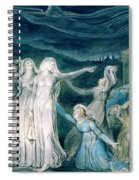 The Parable Of The Wise And Foolish Virgins - Digital Remastered Edition Spiral Notebook