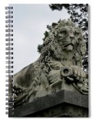 The Patterson Lion Spiral Notebook
