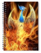 The Phoenix Rises From The Ashes Spiral Notebook