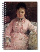 The Pink Dress Also Known As Poop - 1870 - Pc Spiral Notebook