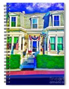The Prince Albert Guesthouse-provincetown, Massachusetts  Spiral Notebook