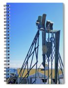 The Provider At Chatham Fish Pier Spiral Notebook
