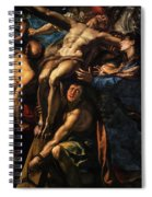 The Raising Of The Cross, 1620 Spiral Notebook