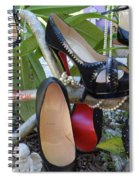 The Red Sole Shoes 4 Spiral Notebook