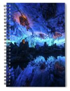 The Reed Flute Cave, In Guangxi Province, China Spiral Notebook