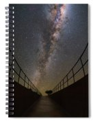 The Residencia At Night Spiral Notebook
