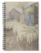 The Return Of The Shepherd Spiral Notebook