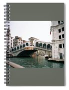 The Rialto Bridge  Spiral Notebook
