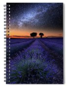 The Rise Of Dawn Spiral Notebook
