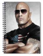 The Rock Dwayne Johnson I I Spiral Notebook