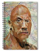 The Rock From California Spiral Notebook