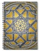 The Roman Mandala At Tomis Spiral Notebook