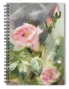 The Rose From A Misty Appalachia Spiral Notebook