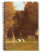 The Sacred Grove 1886 Spiral Notebook