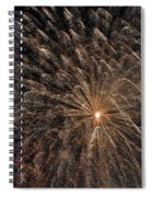 The Saint Louis Missouri 4 Of July Fireworks Spiral Notebook