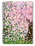 The Scenery Of Spring Spiral Notebook