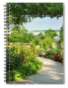 The Scent Of Monet Spiral Notebook