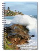 The Sea Was Angry That Day My Friends Spiral Notebook