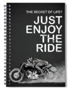 The Secret Of Life Spiral Notebook