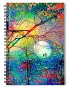 The Secret Path Of Night Spiral Notebook