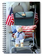 The Ships Captain Spiral Notebook